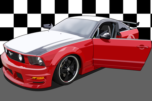 Ford Mustang by zeba5