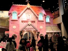 Hello Kittys house in Sanrio P by pgChan