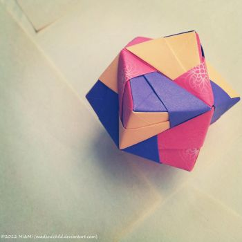 Modular Origami (Octahedron) by MadSoulChild