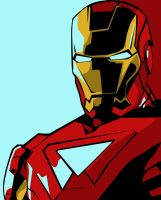 Iron Man Pop-Art by iamherecozidraw