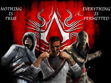 Assassin's Creed tribute by Skal0man