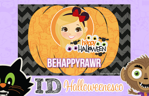 Id Halloweenesco BHR by iBeHappyRawr