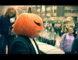 Pumpkin Head Zombie by Jack-Nobre