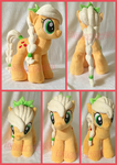 Crystal Applejack Plush (For sale) by SnuggleFactory