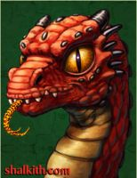 Red Dragon One -Hatchling by VegasMike