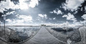Parc des iles - INFRARED PANORAMA by jeje62