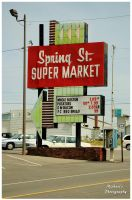 Spring Street Super Market by TheMan268