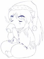 Chibi InuYasha - Christmas Eve by usagisailormoon20