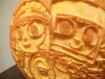 Costume Quest Pumpkin Detail by ceemdee