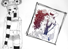 paradise kiss by onelillwitch