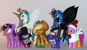 Custom My Little Ponies by kristaia