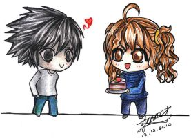 Sweets Love by jelli-chan