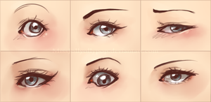 Eyes by MissJollyollypop