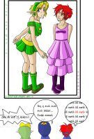 Goodbye Present 2: Crossdress by RoroZoro