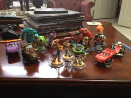All Pixar Disney Infinity Figures by shadowdelta47