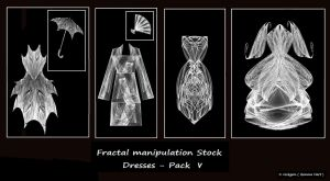Fractal Stock - Dress Pack V by rockgem