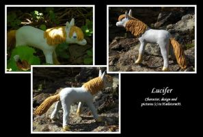 Pony Lucifer sculpture by TheMetasepia