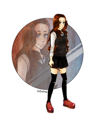 Commission : Poppy - Ravenclaw by Feutre34