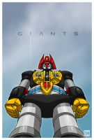 Giant - Robot from Outer Space by DanielMead