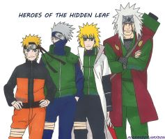 Heroes Of The Hidden Leaf by Ocraxhaydon