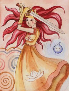 fanart child of light by Lida-Iva