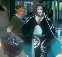 Link and Midna by Gaara-Sephiroth