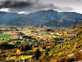 Otago Autumn I by saxtim