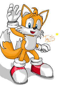 Miles Tails Prower by ShadowTheHedgehog444