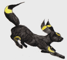 Umbreon by Bapazu