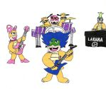 If the Koopalings had a Rock Band by McOuchies