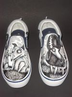 Frankenweenie Handpainted Shoes by rachelliles352