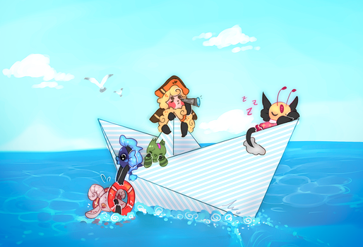-Sailing Prompt- Mocchi by WiviAdopts