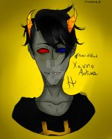 Xevino aotuna (fan troll) by Black8blood8YoLo