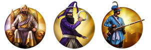 Civilization 5 Icons: Maratha Empire by JanBoruta