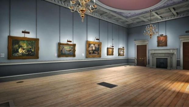Courtauld Gallery 2 by LaJolly