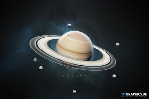 A Portrait of the Solar System: Saturn by TobiasRoetsch