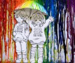 A Rainbow Colored Rain by Yuumira