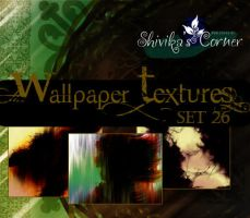 Wallpaper Texture Set 26 by spiritcoda