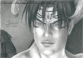 Devil Jin 26-4-2011 by SarahRasmical