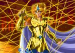 Leo no aioria Full Color by lithiumsaint