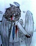 angel doodle by Puddin-Head