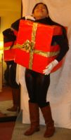 Me in red Christmas gift box costume 4 by Magic-Kristina-KW