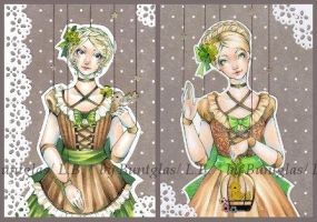 ATC: Clover I and II by Buntglas