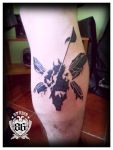 Linkin Park Tattoo Complete by RiversStudio86