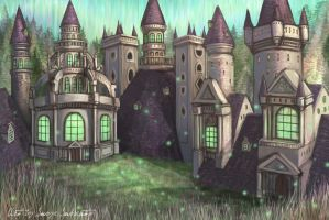 Fairy castle by Serio555