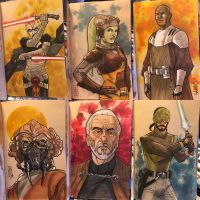 The Star Wars Sketch Book 10 by Hodges-Art