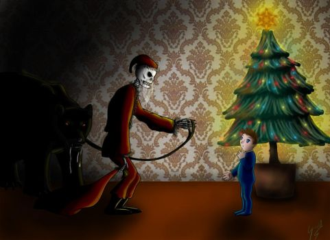 Dark Christmas by 2lazy2talk