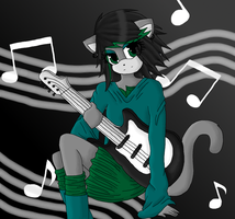 The music of a guitarist by TheKiwiKorner