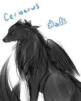 Cerberus [Dog] by Reverrii