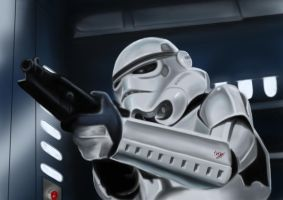 Storm trooper A new hope by Martin-Saelens